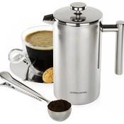 Andrew James - Edelstahl Kaffeebereiter