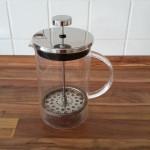 Kaffeepresse von oben